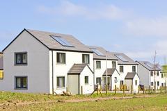 Scottish houses Kuvituskuvat