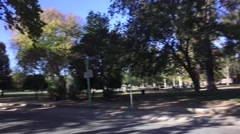 Sacramento, locations, McKinley Park Stock Footage