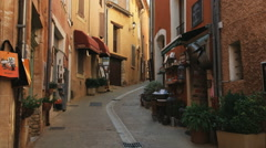 European street Stock Footage