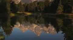 Mountain lake Stock Footage