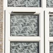 double g;azed window - stock photo