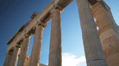 Ancient architecture Stock Footage