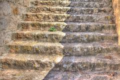 Stock Photo of rocky stairs
