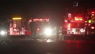 Stock Video Footage of Fire Scene Radio Traffic