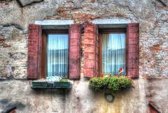 Hdr windows Stock Photos