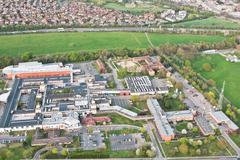hinchingbrooke hospital - stock photo