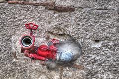 Hdr hydrant Stock Photos