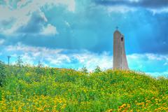 Hdr steeple Stock Photos