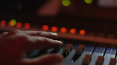 Sound Board Stock Footage