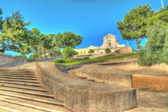 Stock Photo of stairway in cagliari
