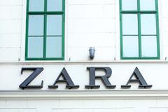 Zara logo Stock Photos