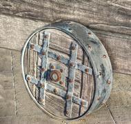 Stock Photo of catapult wheel