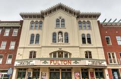 Fulton opera house, lancaster pennsylvania Stock Photos