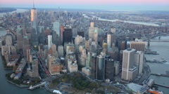 New York City 4K aerials Stock Footage