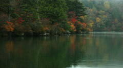 Lake Yunoko colorful side, color graded Full HD (1920x1080) Stock Footage