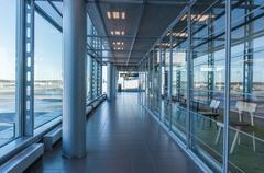 Helsinki, finland - october 18, 2014: helsinki, finland. vantaa airport Stock Photos