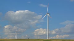 windmill turbine - stock footage