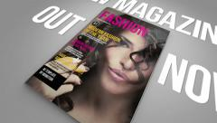 Stock After Effects of Magazine Promo