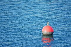 Red buoy Stock Photos