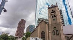 Jesus Saves Church Timelapse Stock Footage