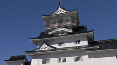 Toyama Castle In Japan Stock Footage