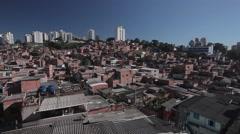 Skyline Paraisopolis - Sao Paulo - stock footage