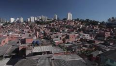 Skyline Paraisópolis Sao Paulo - stock footage