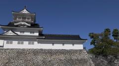 Toyama Castle In Japan Stock Footage