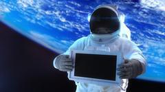 Astronaut - stock illustration