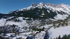 Alps Austria Salzburg, Maria Alm Stock Footage