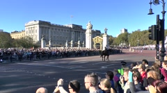 The Changing of the Guard ceremony, London, UK. Stock Footage