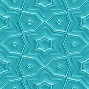 Mayan ornaments seamless hires generated texture Stock Illustration