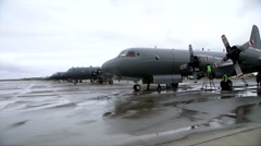 New Zealand Air Force P-3K2 Arrive, RIMPAC 2014 Stock Footage
