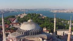 Hagia Sophia - Istanbul Stock Footage