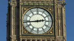 The Elizabeth Tower, popularly called Big Ben, London. Stock Footage
