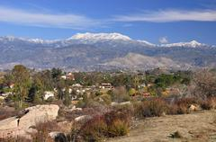 Foothills of Mount San Jacinto - stock photo