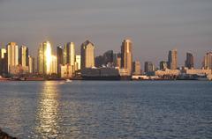 Stock Photo of City Glow