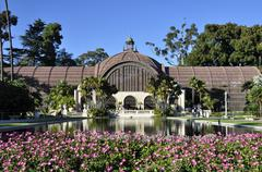Balboa Park Botanical Building - stock photo