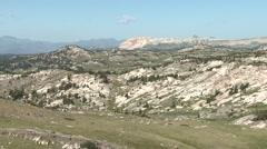 Mountain Cooke City Summer Alpine - stock footage