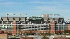 2389 Raven Football Stadium in Baltimore Maryland During Day, 4K Stock Footage