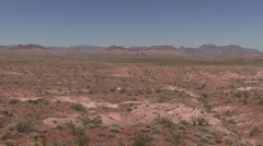 Desert Lake Mead National Recreation Area Summer Pan Stock Footage