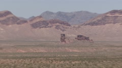 Desert Lake Mead National Recreation Area Summer Zoom Out Stock Footage