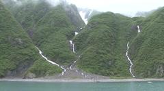 Mountain Kenai Fjords National Park Summer Handheld - stock footage