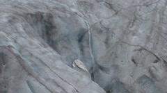 Mountain Kenai Fjords National Park Summer Glacier Runoff Melting - stock footage