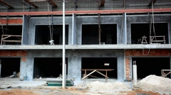 Construction of housing on Koh Samui. Thailand. HD. 1920x1080 Stock Footage