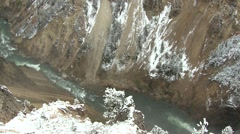 River & Stream Yellowstone National Park Fall Yellowstone River Pan - stock footage