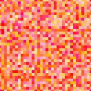 Vector pixel background in 8-bit style Piirros