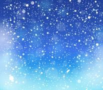 snow theme background - illustration. - stock illustration