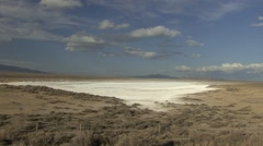 Wetland  Spring Dry Arid Alkaline - stock footage