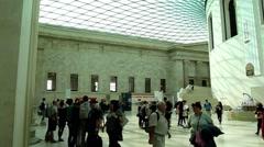 The British Museum London UK Stock Footage